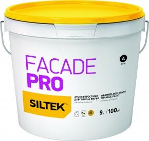 Краска Siltek Facade Pro атмосферостойкая, база FА, 9 л - купить в Киеве. Фасадные краски в магазине AlkivbackgroundLayer 1