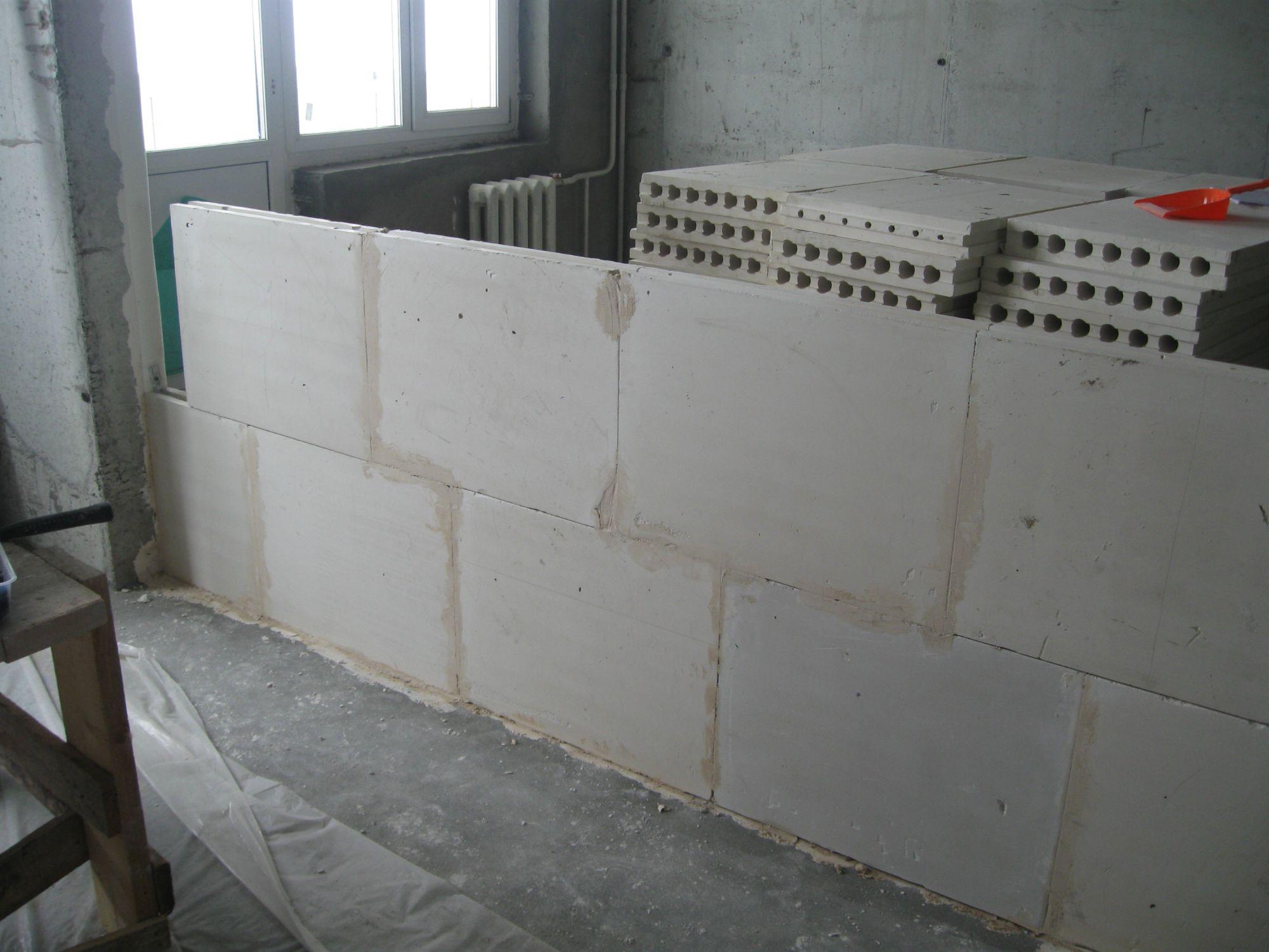 блок для стены в квартире